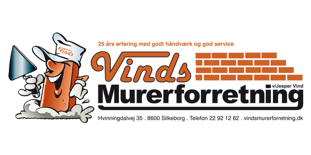 Logo-Vinds Murerforretning